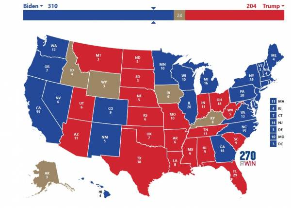BREAKING: Now the Democrat Attorneys General Align with Pennsylvania, Michigan, Wisconsin and Georgia – Nearly Every State Has Picked Sides 1