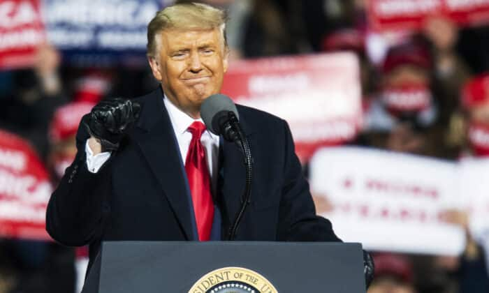 Programming Alert: Live Coverage of Trump's Victory Rally in Georgia 1