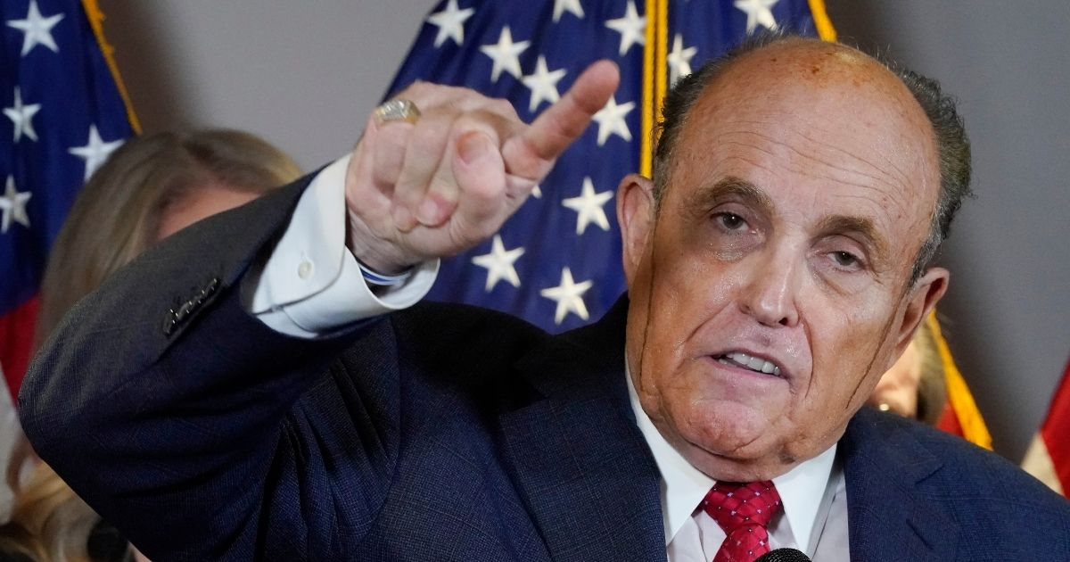 Giuliani Teases 'Big Revelations' About Voting Machines in Georgia 1