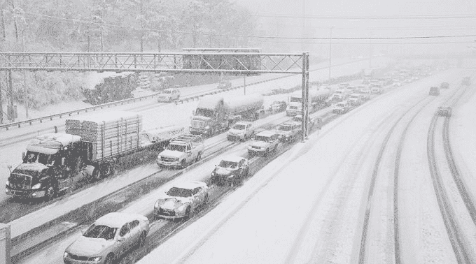Photos show deadly 66-vehicle pileup in Pennsylvania during winter storm 1