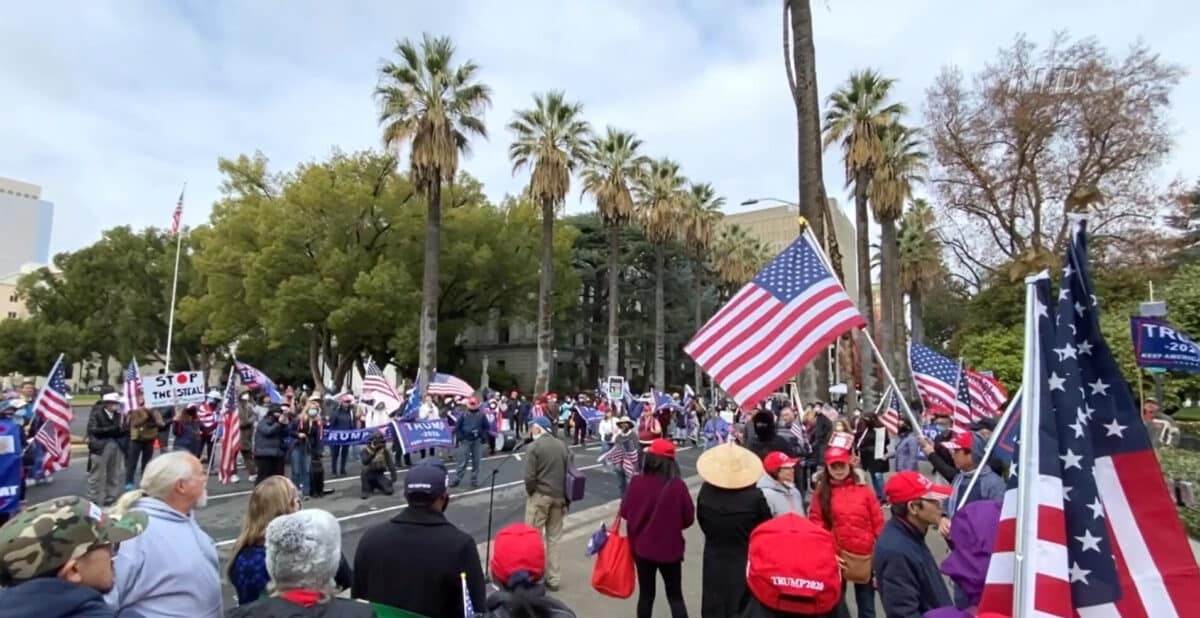 Californians Protest Against Election Fraud 1