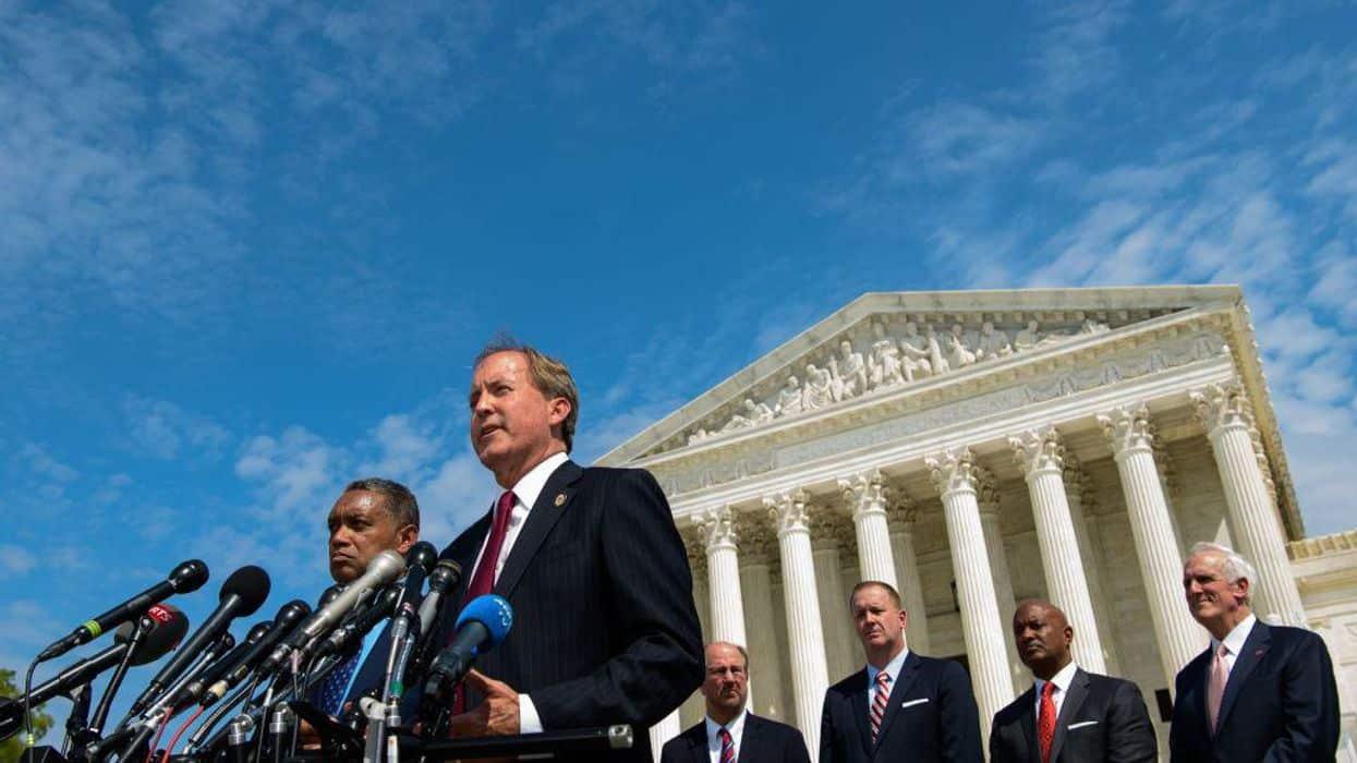 Texas files election challenge in Supreme Court against four battleground states 1