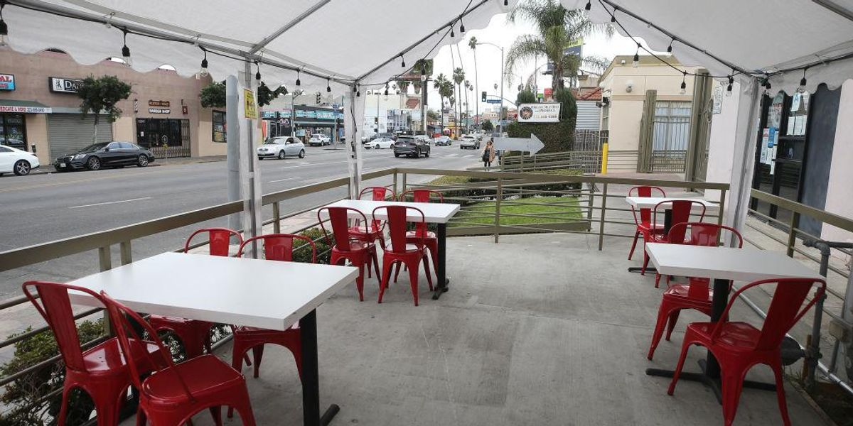 Judge rules LA County banned outdoor dining 'arbitrarily' without appropriate 'risk-benefit' analysis 1