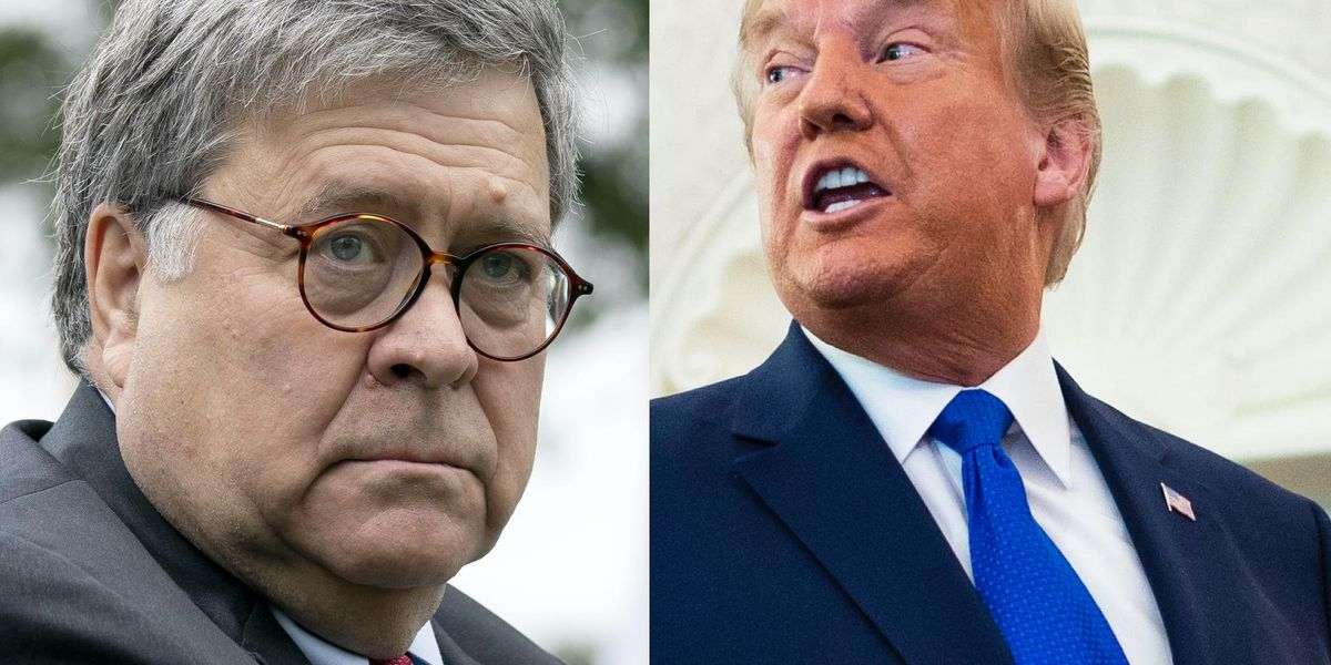 Trump turns on AG Bill Barr after report claims he knew about probe of Hunter Biden before election 1