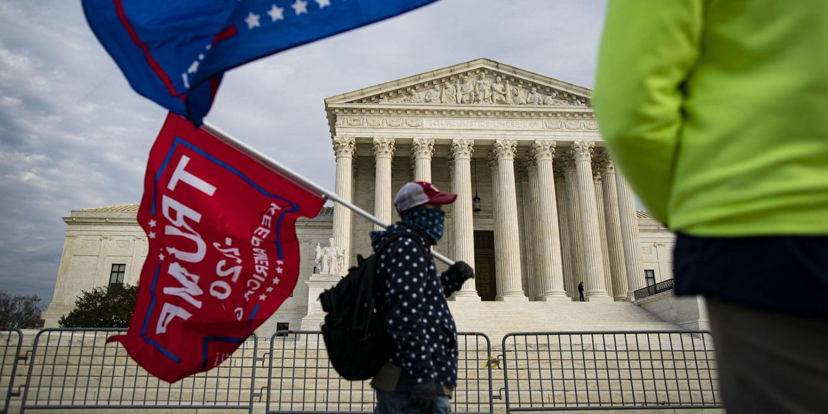 Breaking: Supreme Court denies lawsuit by Texas seeking to nullify election results from 4 states 1