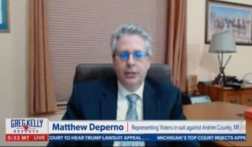 HUGE! Attorney Matthew DePerno CONFIRMS Dominion Voting Machines in Michigan County CHANGED VOTES From Trump to Biden — IT WAS NOT HUMAN ERROR! 1