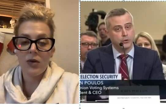 EXCLUSIVE: Michigan Witness Melissa Carone: Dominion CEO John Poulos LIED to Michigan Senate, I HAVE THE PROOF! (VIDEO) 1