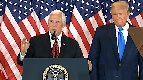 Pence to decide race? Law profs say VP allowed to 'count' electoral votes 1