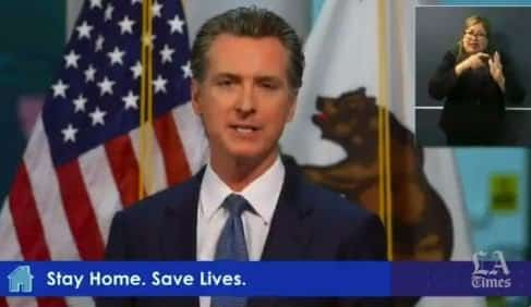 Newsom Extends Southern California Stay-at-Home Order For at Least Another Three Weeks 1