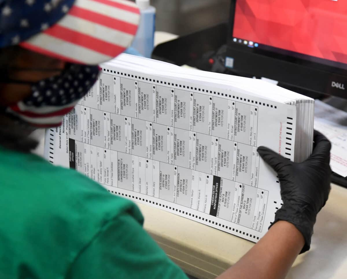 Trump Lawyer: Campaign Wasn't 'Allowed a Forensic Audit' of Nevada Voting Machines 1
