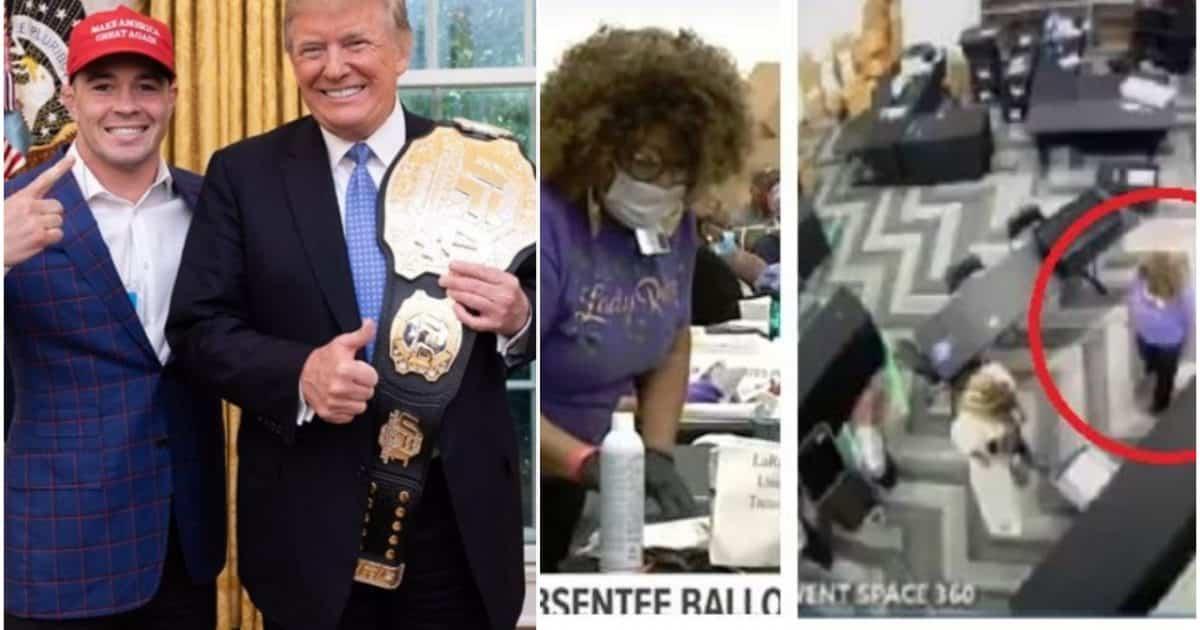 Patriotic MMA Superstar Colby Covington Says 'Fake News is Brainwashing People' on Election Fraud 1