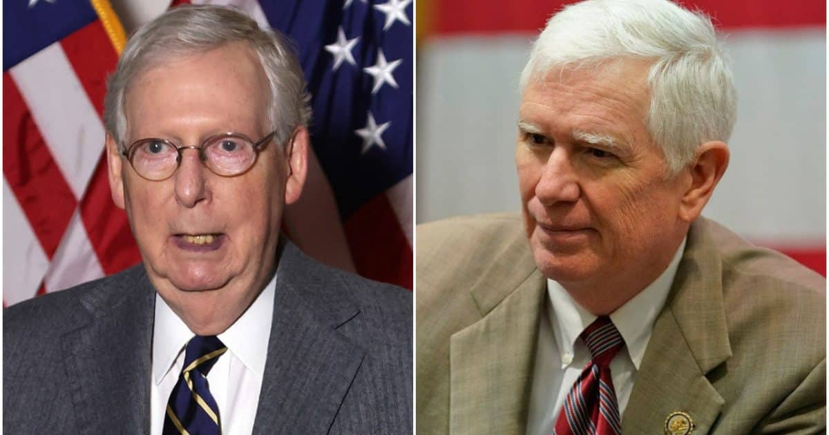 Rep. Mo Brooks Blasts Mitch McConnell and GOP Senate Leaders for Reportedly Ducking 'Election Fraud Theft' 1
