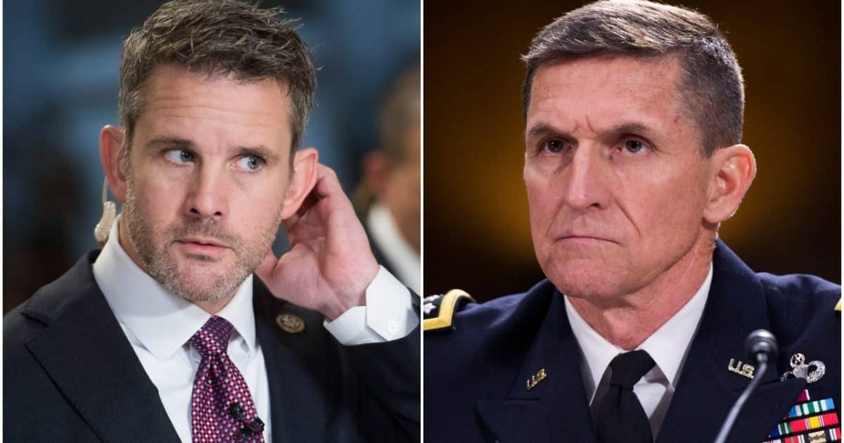 'Study the Constitution': General Michael Flynn Slams RINO Congressman for Rejecting Martial Law to Overturn Vote Steal 1