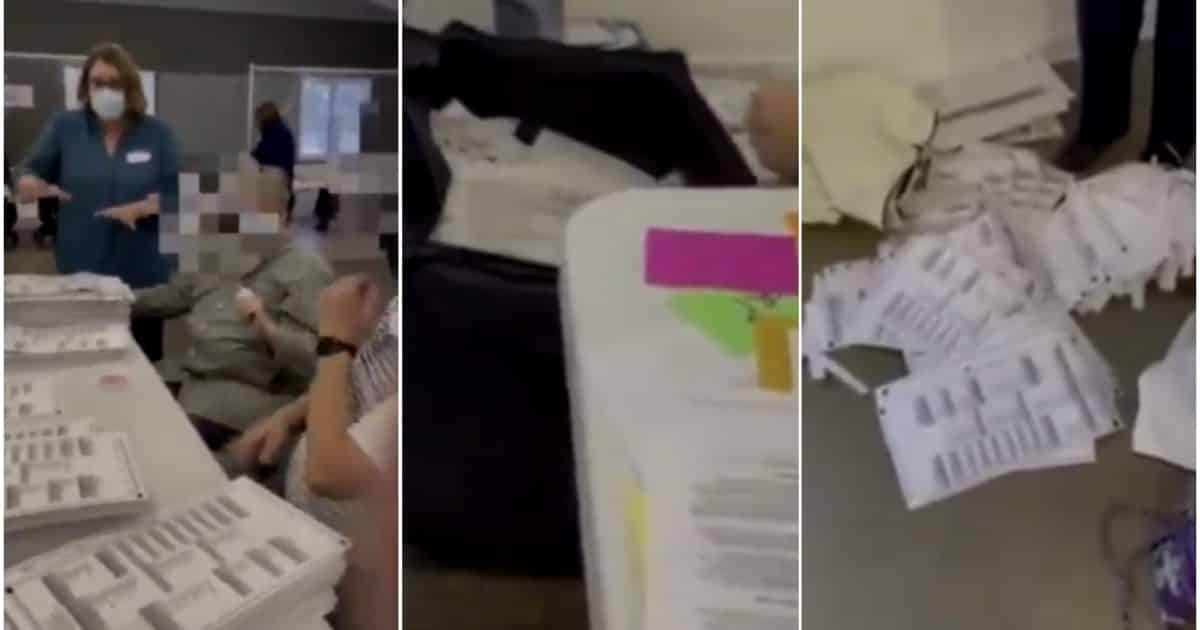 VIDEO: Michigan Election Worker Stops Investigation Into Suspicious Ballots at 'Risk-Limiting Audit' in Antrim County 1