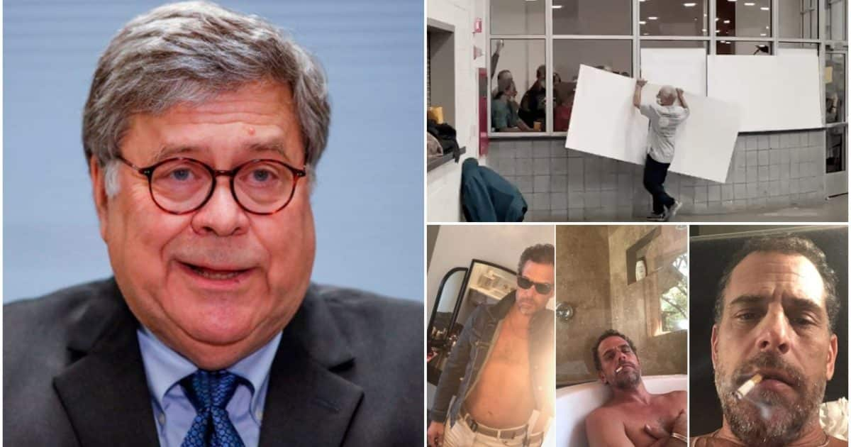 FINAL BETRAYAL: AG Bill Barr Announces No Special Counsel for Hunter Biden or Election Fraud on His Way Out 1
