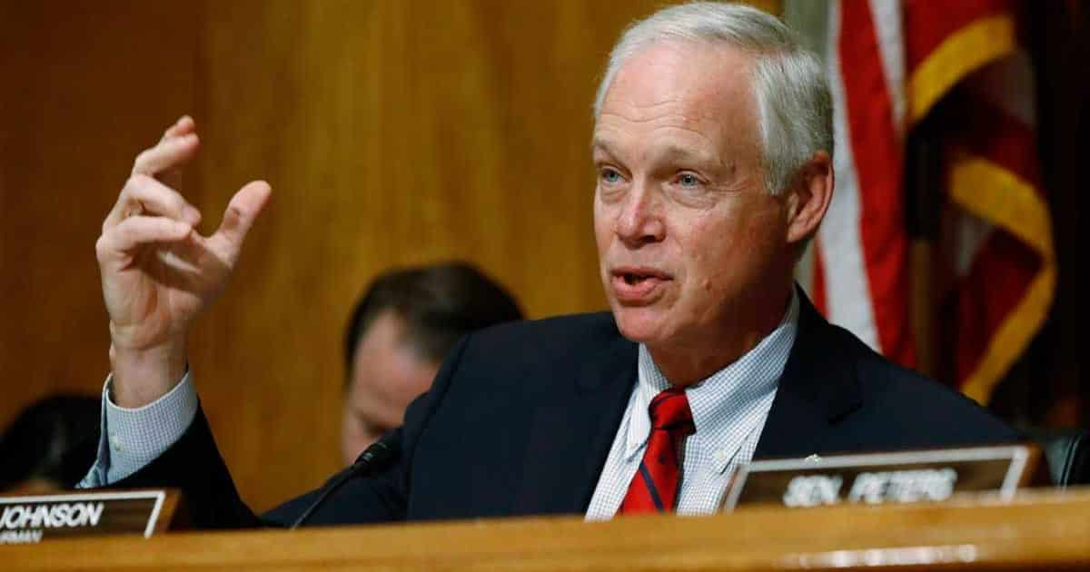 Senator Ron Johnson Leads Effort To Examine Irregularities in November's Election 1