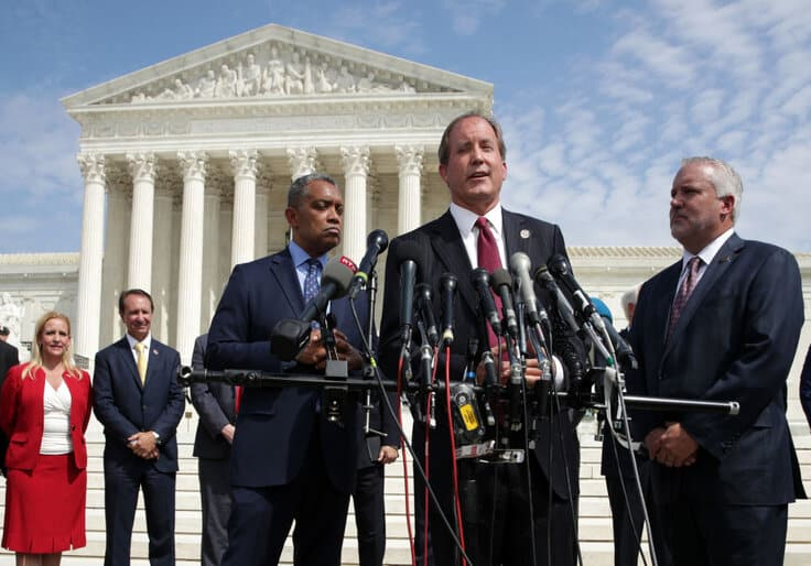 Texas Fights Election Results from Four Battleground States in Supreme Court 1