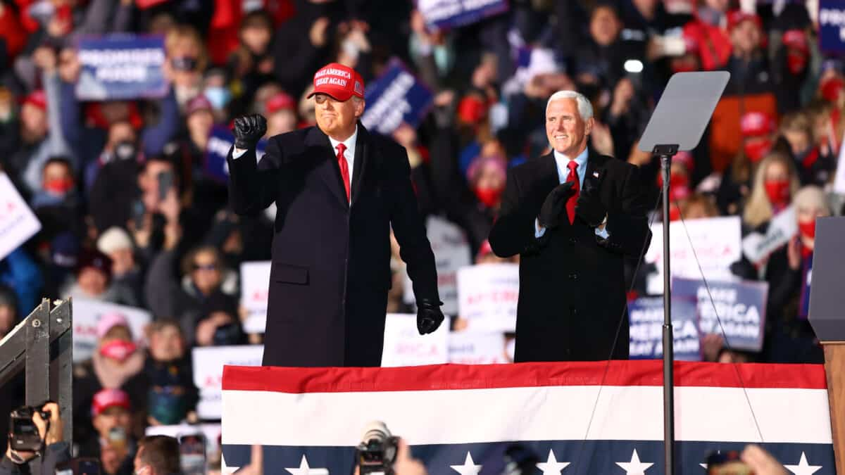 GOP Lawmaker Sues Pence to Give Him 'Exclusive Authority' to Overturn Election Results 1