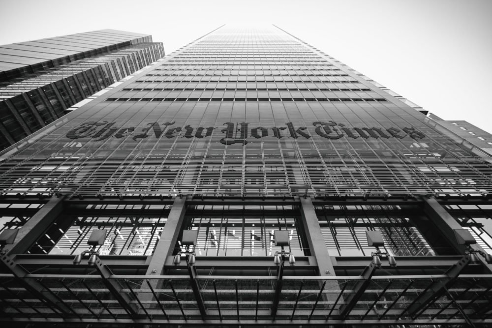 New York Times: Unite The Country Against The Trump Voters 1