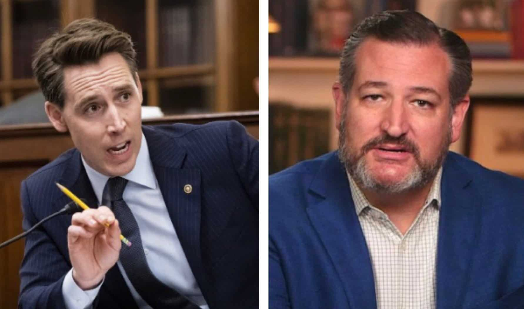 They Don't Want the Truth to Come Out: Senate Democrats File Ethics Complaint Against Senators Cruz and Hawley for Challenging Election Fraud 1