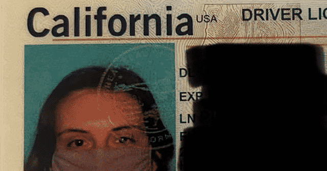 VIDEO: California Woman Receives ID with Photo of Herself Wearing Mask 1
