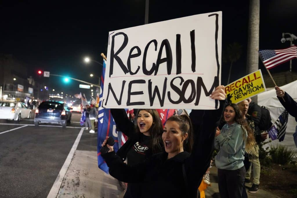 As Campaign to Recall California Gov. Newsom Nears Goal, State GOP Contributes $125K 1
