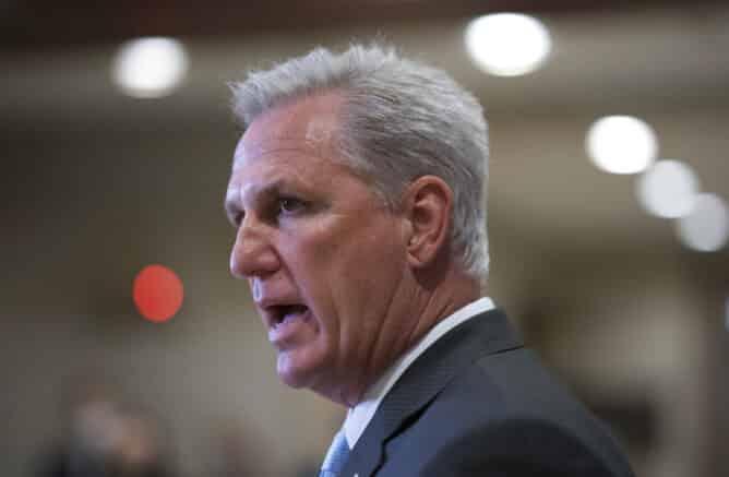 House Minority Leader McCarthy defends free speech from Democrat censorship 1