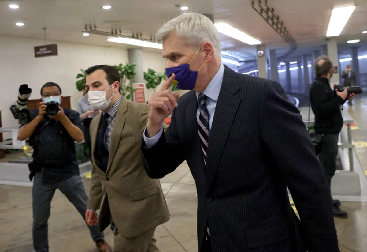 Baton Rouge GOP Censures Sen. Cassidy for Vote Saying Impeachment Trial Is Constitutional 1