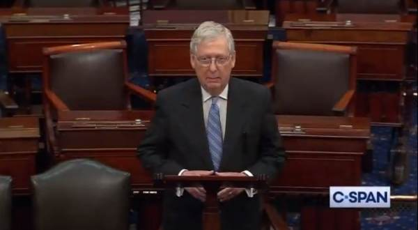 Mitch McConnell Says He Will Vote to Acquit Trump 1