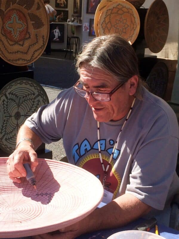 California Potter Talks Art of Survival, Survival Through Art 1