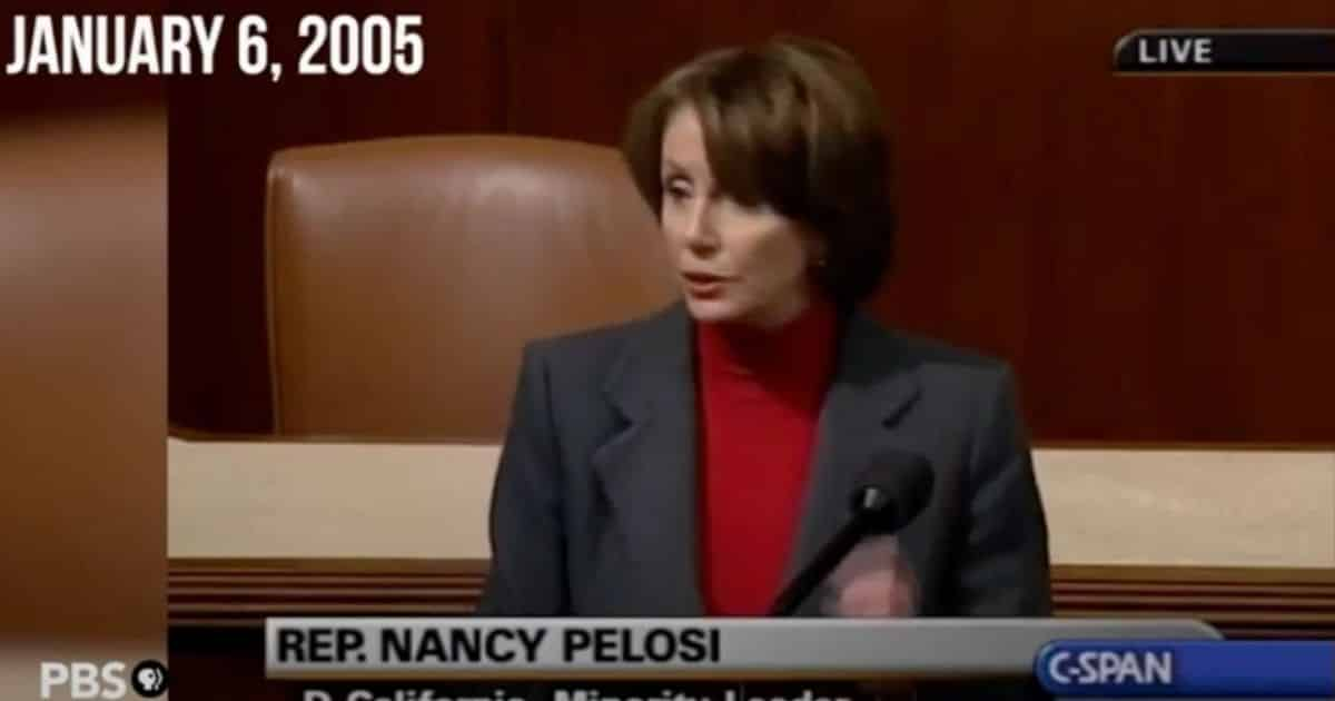 Flashback: In 2005 Pelosi Raised Same Voting Machine, Ballot Concerns That She Condemns Today 1