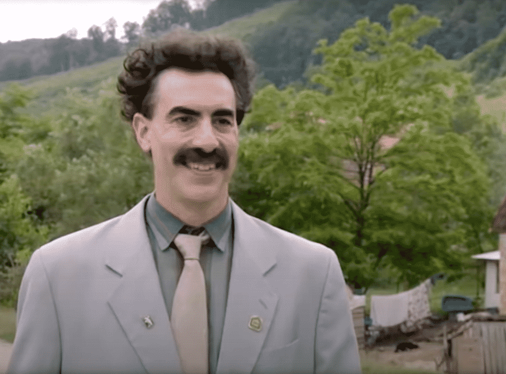 Amazon-Backed 'Borat' Sequel Made 'To Have An Impact On The Election,' Says Sacha Baron Cohen 1