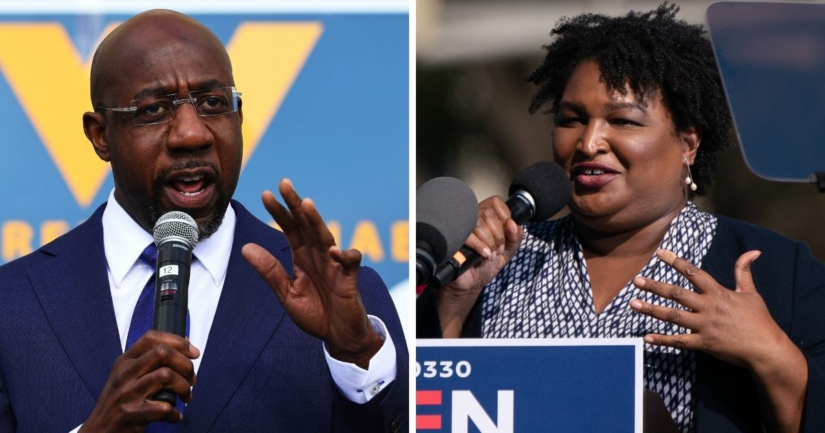 Georgia Election Board Opens Investigation into Warnock, Stacey Abrams-Linked Group Over Voter Registration Misconduct 1