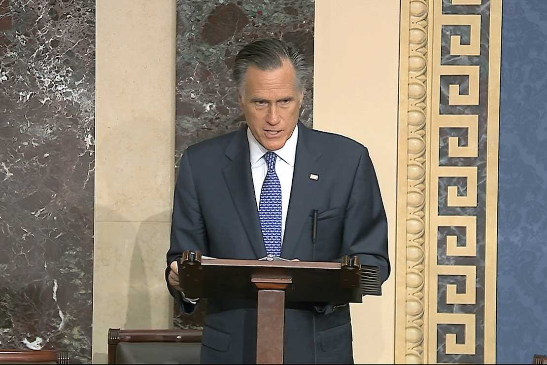 Utah GOP Rejects Efforts to Censure Romney for Impeachment Vote 1