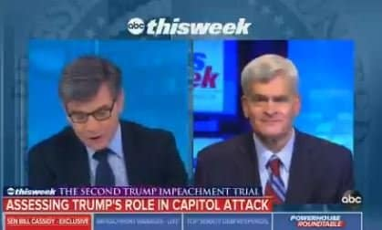 """""""Trump's Force Will Wane"""" – GOP Senator Cassidy Bashes Trump Voters After Voting to Impeach President Trump 1"""