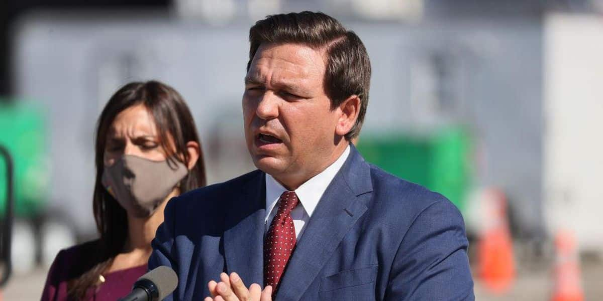 Fla. Gov. DeSantis blasts media for double standard in COVID-19 coverage: 'You don't care as much when it's a peaceful protest, a Biden election' 1