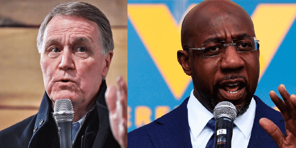 David Perdue files to run for Senate in Georgia again — this time against Sen. Raphael Warnock 1
