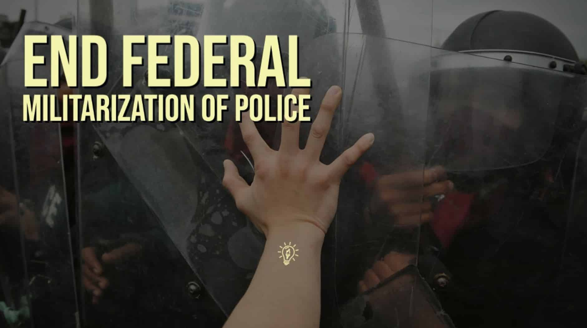 California Bill Would Take Step to Block Federal Militarization of Police 1