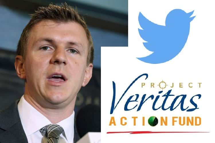 NEW: Project Veritas Permanently Suspended From Twitter After Tweeting About Facebook Censorship 1