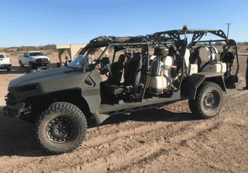 Army Begins NewInfantry Squad Vehicle Test At Arizona's Yuma Proving Ground 1