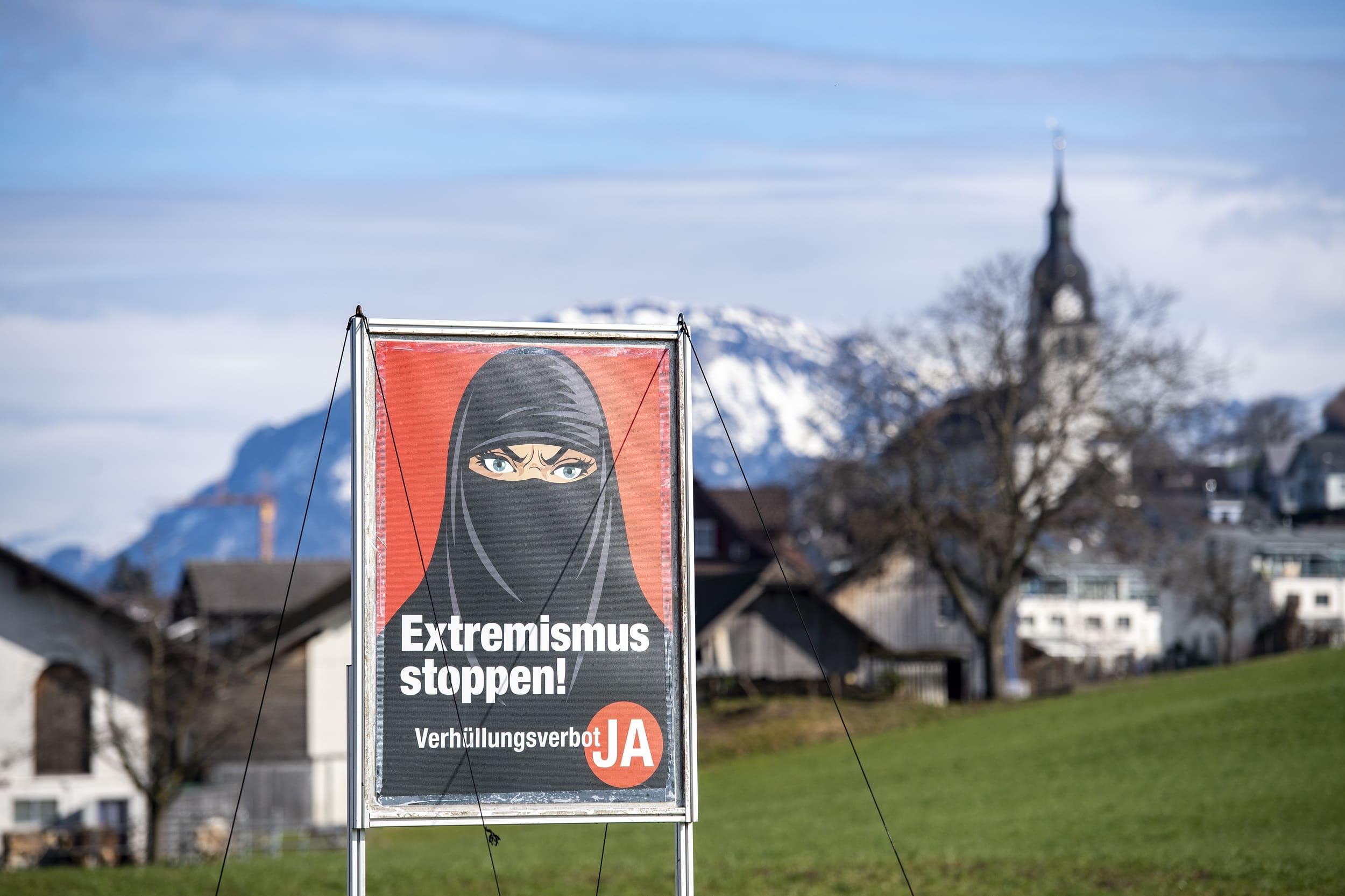 Swiss Voters Ban Burqas, Ski Masks, & Bandanas But Exempt COVID Masks 1