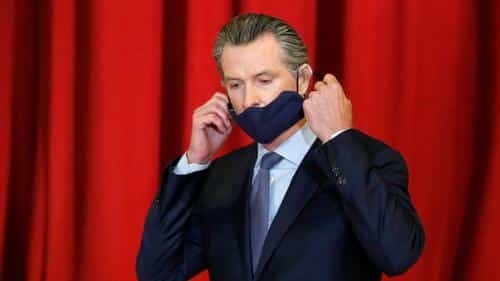 "Newsom Urges Double-Masking For All Californians, Will Not Make ""Terrible Mistake"" Like Texas 1"