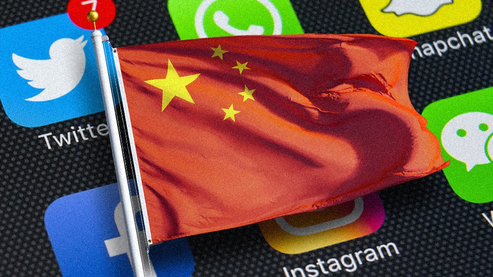 China imprisoning citizens for critical Twitter posts even though the website is banned in the Mainland 1