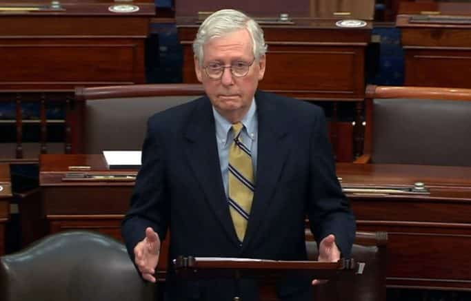 McConnell: Dems looking to take control of U.S. elections 1