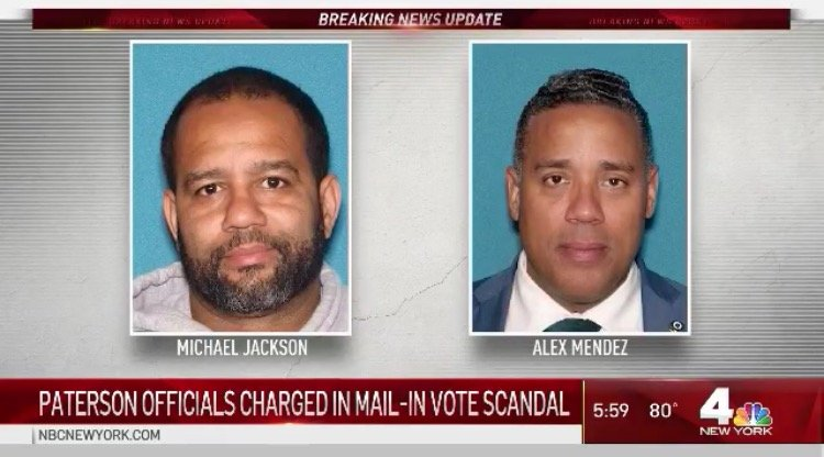 Two Paterson City Council Democrats Indicted on Voter Fraud Charges After Using Mail-In Ballots to Steal Election 1