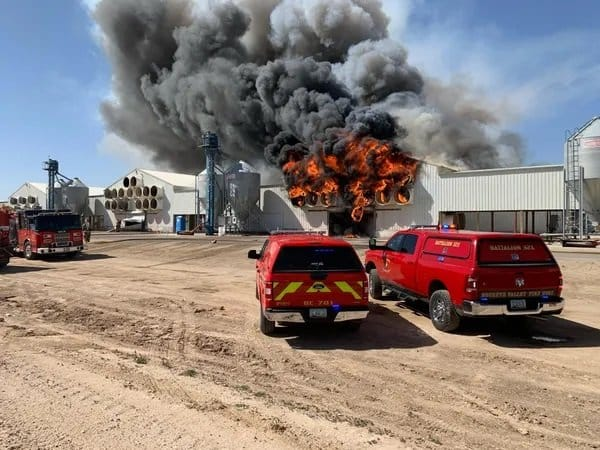 After Finding Shredded Ballots in the Dumpster Earlier Today – A Mysterious Fire Breaks Out at Maricopa County Official's Farm 1