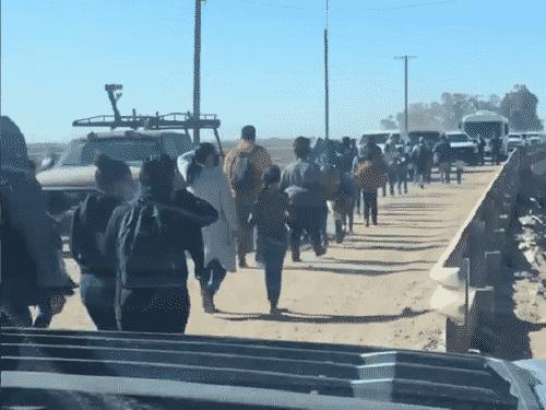 Biden Admin Silences DHS Over Border Crisis As Viral Video Shows Flood Of Migrants Streaming Into Arizona 1