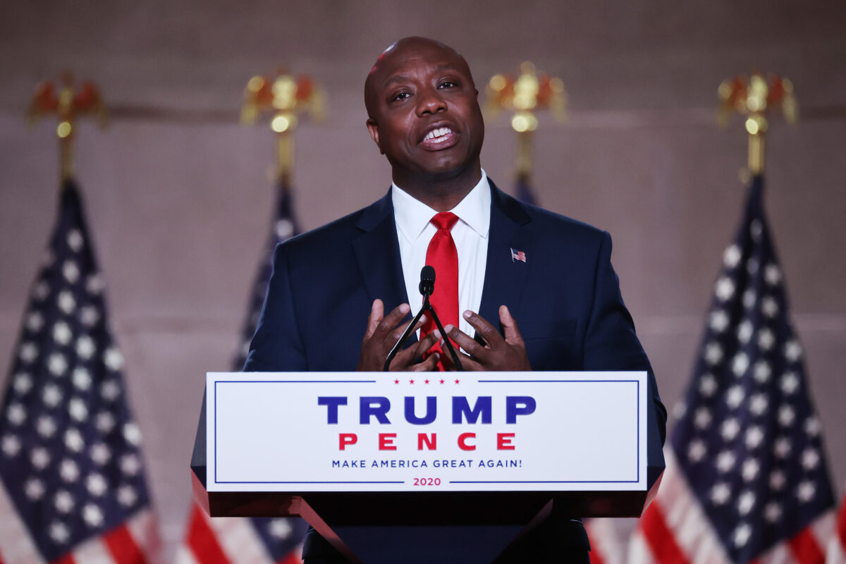 Trump Endorses Sen. Tim Scott for Reelection 1