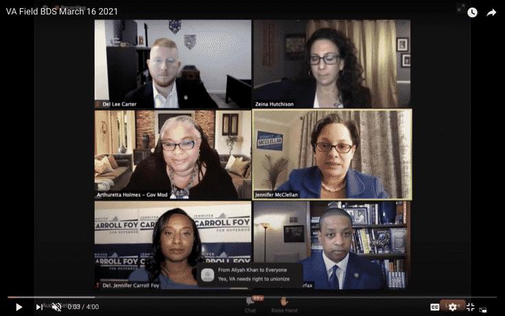 Virginia Democratic Gubernatorial Contenders Endorse BDS Movement 1