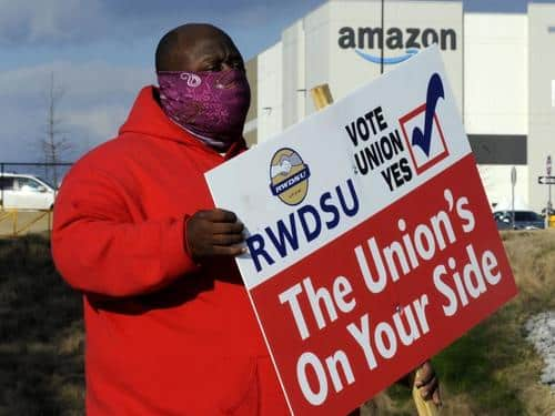 Amazon Workers In Several States Consider Unionizing Ahead OfAlabama Vote 1